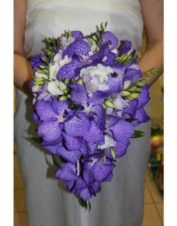 Bouquet of an orchid Wanda | Flowers to women