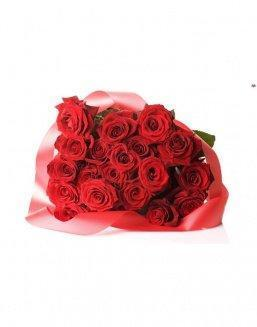 Bouquet of 21 red roses | Flowers to women