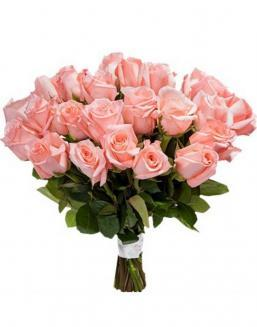 Bouquet of 33 pink roses | Flowers to women
